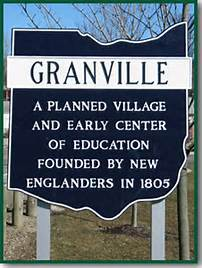 granville dedication sign